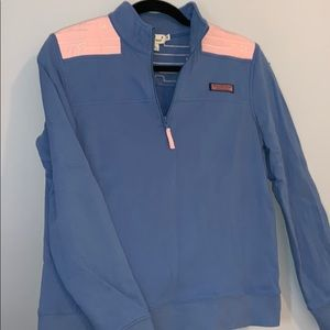 Vineyard Vines M Blue & Pink Pullover